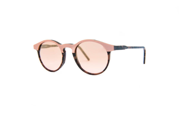 Kyme - Miki Camou Pink Sunglasses