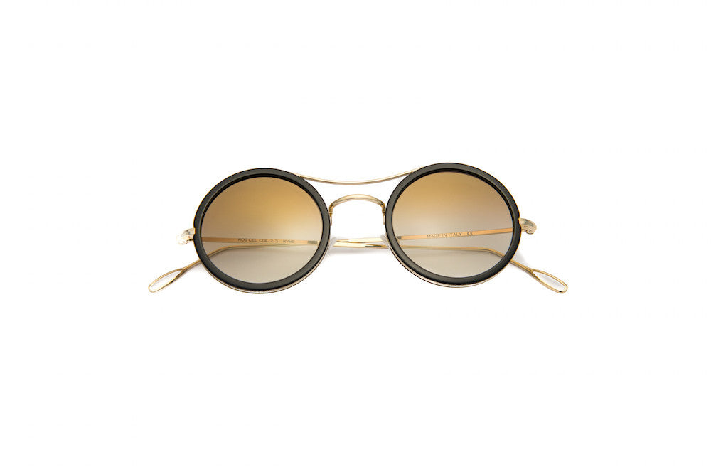 Kyme - Ros Cell Flash Gold Sunglasses