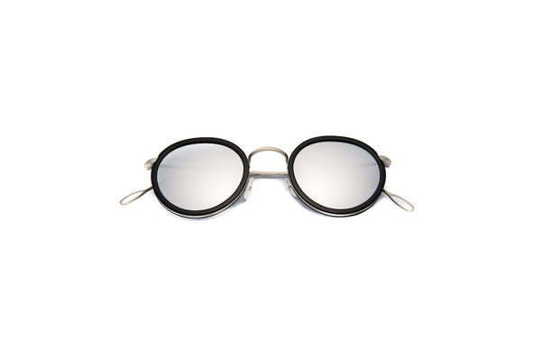 Kyme - Matti Silver Mirrored Sunglasses