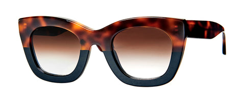 Thierry Lasry - Concubiny Tortoise Shell Sunglasses / Brown Gradient Lenses