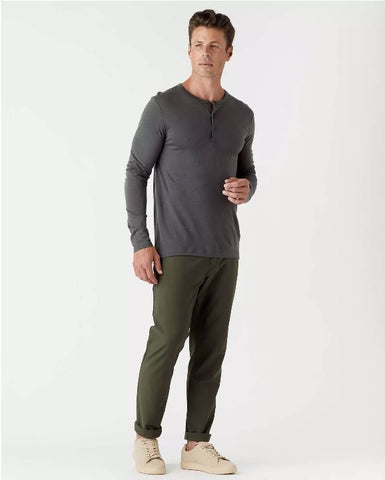 Olivers - Convoy Henley Carbon Long-Sleeve