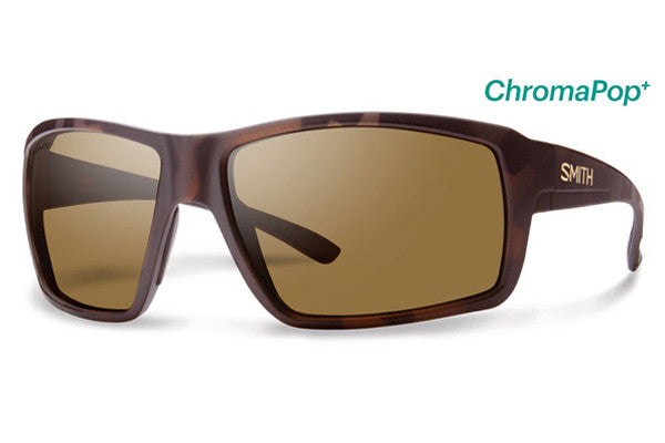 Smith - Colson Matte Tortoise Sunglasses, ChromaPop+ Polarized Brown Lenses
