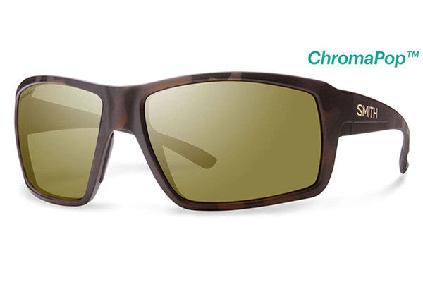 Smith - Colson Matte Tortoise Sunglasses, ChromaPop Polarized Bronze Mirror Lenses