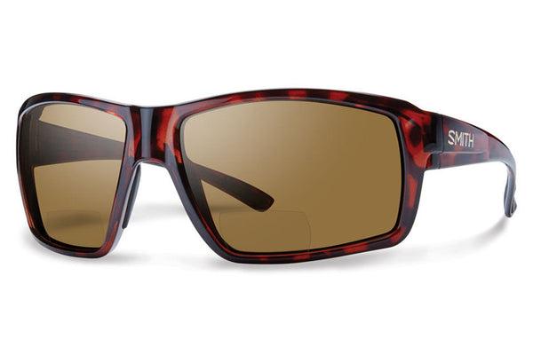 Smith - Colson Bifocal Tortoise Sunglasses, Polarized Brown 2.00 Lenses