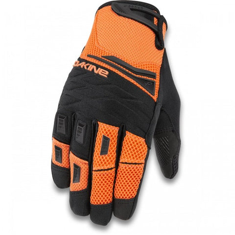 Dakine - Men's Cross-X Vibrant Orange Bike Gloves