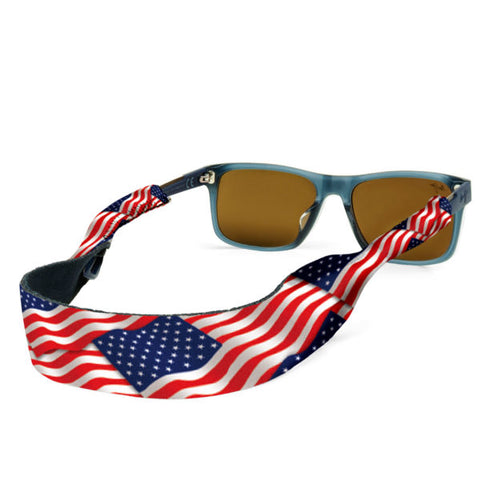Croakies - USA Flag Eyewear Retainer