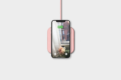 Courant - CATCH:1 Dusty Rose Wireless Charger