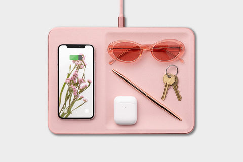 Courant - CATCH:3 Dusty Rose Wireless Charger