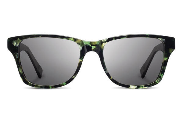 Shwood - Canby Acetate Dark Forest / Grey Polarized Sunglasses