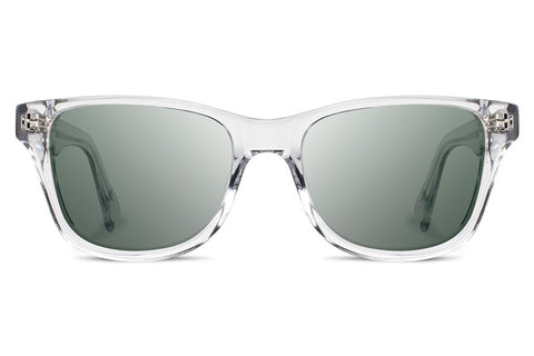 Shwood - Canby Acetate Crystal / G15 Sunglasses