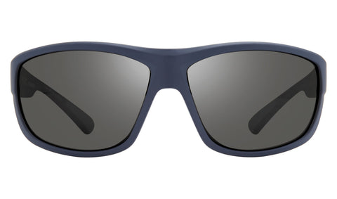 Revo - Caper Bear Grylls 66mm Blue Sunglasses / Graphite Polarized Lenses