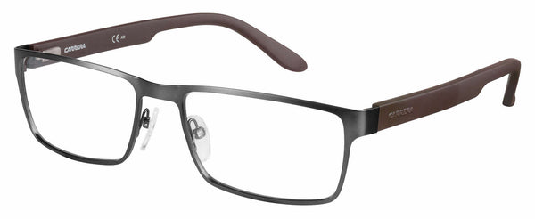 Carrera - Ca 6656 54mm Dark Ruthenium Matte Black Eyeglasses / Demo Lenses