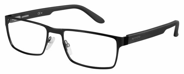 Carrera - Ca 6656 56mm Shiny Matte Black Eyeglasses / Demo Lenses
