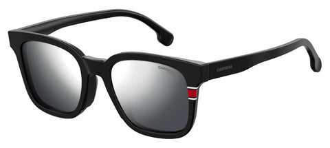 Carrera - 185 F S Matte Black Sunglasses / Silver Mirror Lenses