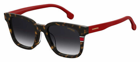 Carrera - 185 F S Havana Red Sunglasses / Dark Gray Gradient Lenses