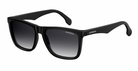 Carrera - 5041 S Matte Burgundy Black Sunglasses / Dark Gray Gradient Lenses