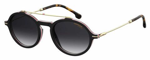 Carrera - 195 S Black Havana Sunglasses / Dark Gray Gradient Lenses