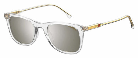 Carrera - 197 S Crystal Sunglasses / Silver Mirror Lenses