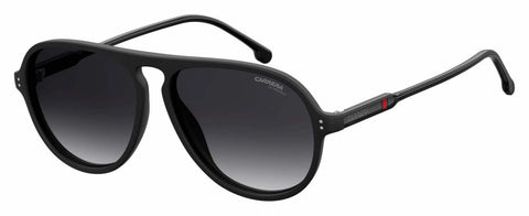 Carrera - 198 S Matte Black Sunglasses / Dark Gray Gradient Lenses