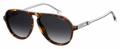 Carrera - 198 S Dark Havana Sunglasses / Dark Gray Gradient Lenses