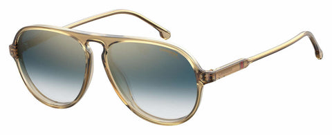 Carrera - 198 S Yellow Sunglasses / Blue Gold Lenses
