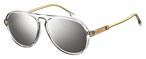 Carrera - 198 S Crystal Sunglasses / Silver Mirror Lenses
