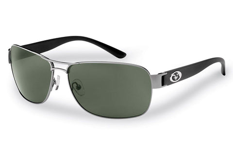 Flying Fisherman - Carysfort 7312 Gunmetal Black Sunglasses, Smoke Lenses