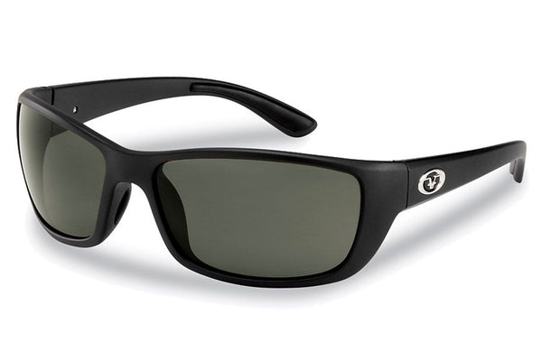 Flying Fisherman - Cay Sal 7372 Matte Black Sunglasses, Smoke Lenses