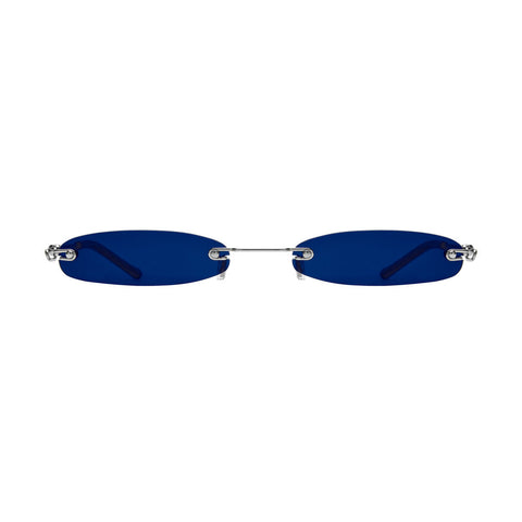 Christianah Jones - Shady 2.0 Blue Sunglasses / Dark Blue Lenses