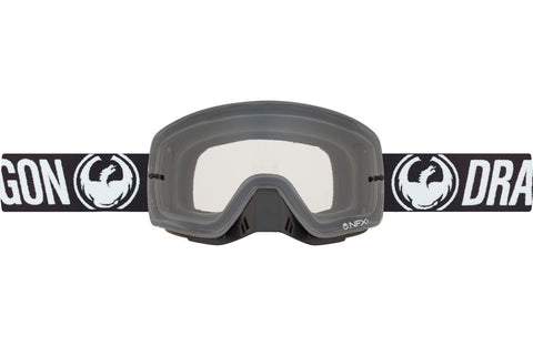 Dragon - NFXs Coal MX Goggles / Clear Lenses