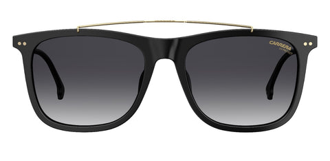 Carrera - 150 Black Sunglasses / Dark Gray Gradient Lenses