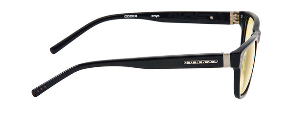 Gunnar - Codex Onyx Eyeglasses / Demo Lenses