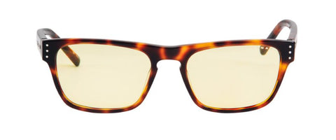 Gunnar - Vertex Onyx Reader Eyeglasses / Amber Blue Light +2.00 Lenses