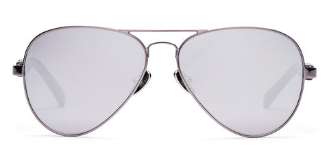 Westward Leaning - Concorde 26 Polished Gunmetal Sunglasses / Super Silver Mirror Lenses