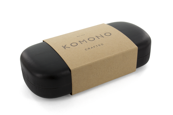 Komono - The Riviera Black Marble Sunglasses