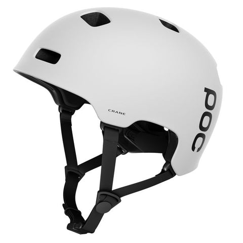 POC - Crane Medium-Large Matte White Bike Helmet