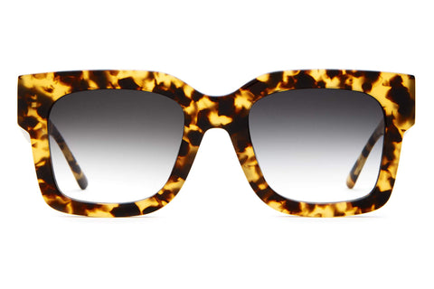 Crap Eyewear - The Downtown Purr Tokyo Tortoise Sunglasses / Grey Gradient Lenses