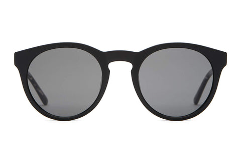 Crap Eyewear - The Shake Appeal Black  Sunglasses / Grey Polarized Lenses