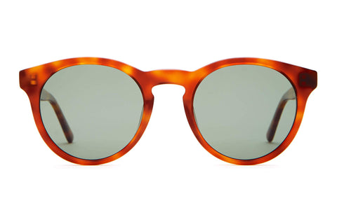 Crap Eyewear - The Shake Appeal Havana Tortoise Sunglasses / G15 Polarized Lenses