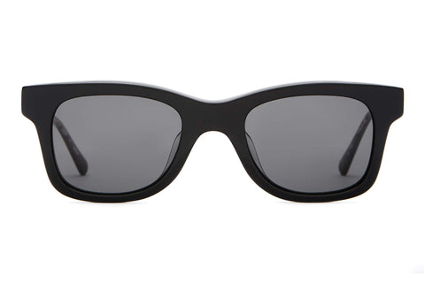 Crap Eyewear - The Suntan Underground Black  Sunglasses / Grey Polarized Lenses