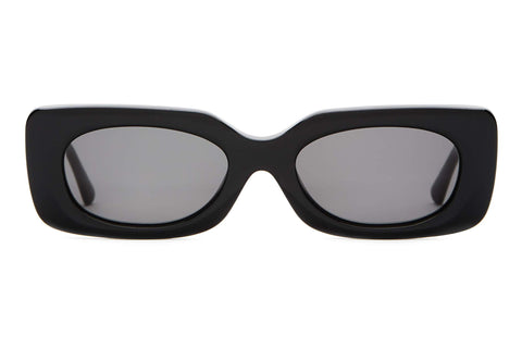 Crap Eyewear - The Supa Phreek Black  Sunglasses / Grey Lenses