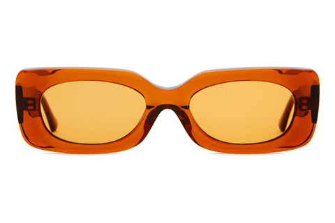 08e3727d4c0 Crap Eyewear - The Supa Phreek Crystal Bourbon Sunglasses   Burnt Orange  Lenses