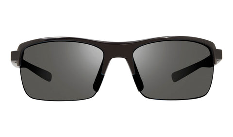 Revo - Crux N 63mm Black Sunglasses / Graphite Polarized Lenses