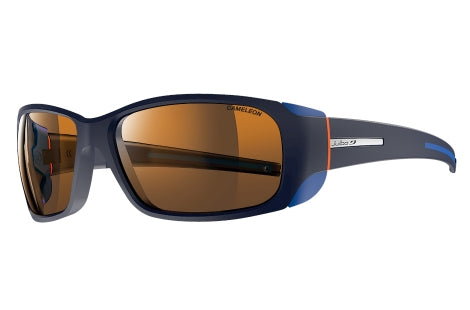 Julbo - MONTEBIANCO Blue Orange Sunglasses / Camel Lenses