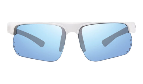Revo - Cusp 67mm White Sunglasses / Blue Water Lenses