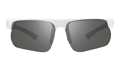 Revo - Cusp S 67mm White Sunglasses / Graphite Polarized Lenses