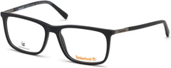 Timberland - TB1619 58mm Matte Black Eyeglasses / Demo Lenses
