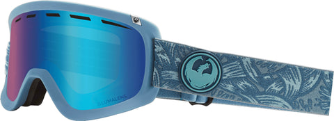 Dragon - D1 OTG Plex Snow Goggles / Blue Ion + Amber Lenses