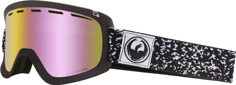 Dragon - D1 OTG Scribe Snow Goggles / Pink Ion + Dark Smoke Lenses