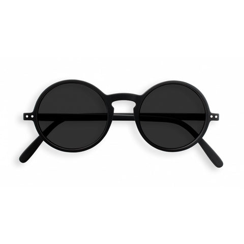 Izipizi - #G Black Sunglasses / Grey Lenses